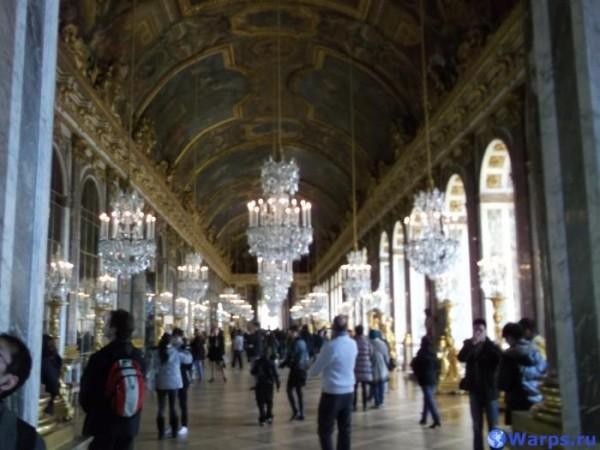 Достопримечательности Франции - Апартаменты Короля (Версаль)
