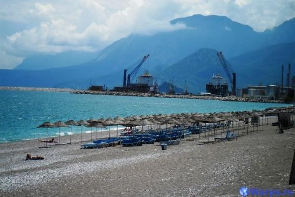 Пляжи Средиземного моря в Турции