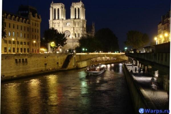 Достопримечательности Франции - Собор Парижской Богоматери