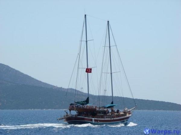 Экскурсии в Турции - прогулки на яхте