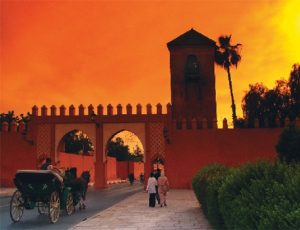 Марокко. Раскрашенное королевство