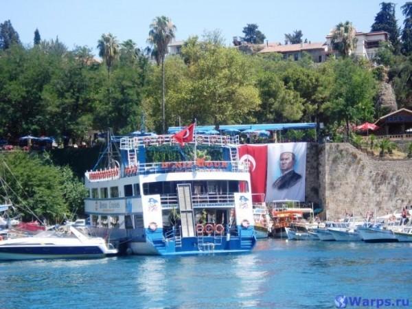 Пляжи Анталии в Турции