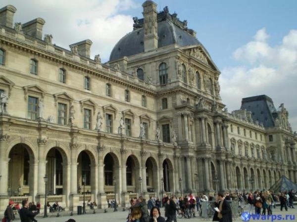 Достопримечательности Франции - Луврский дворец