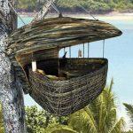 Ресторан на деревьях в Тайланде